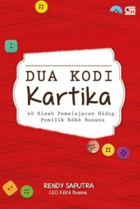 Sampul depan Dua Kodi Kartika @dutailmu.co.id