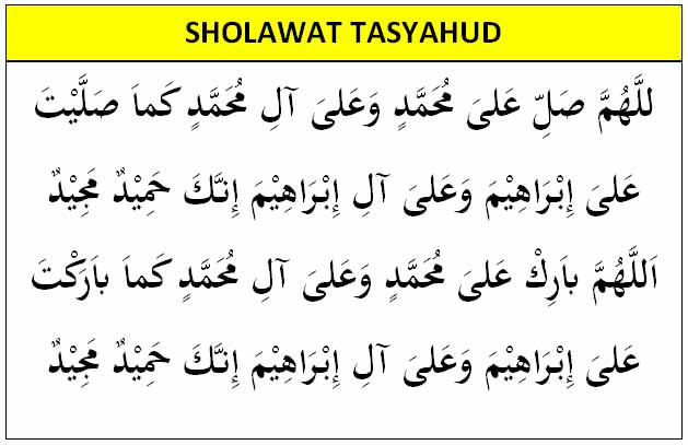 sholawat nabi muhammad