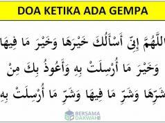 doa gempa