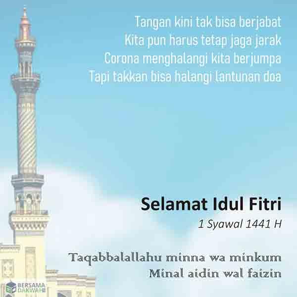 Kumpulan Ucapan Idul Fitri 2020 Dari Sunnah Hingga Versi