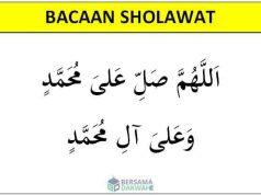 bacaan sholawat nabi